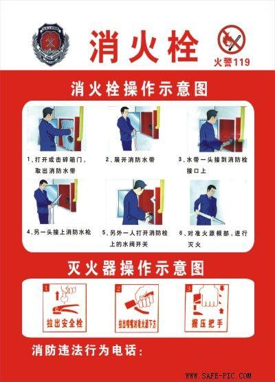 消防栓的使用步骤