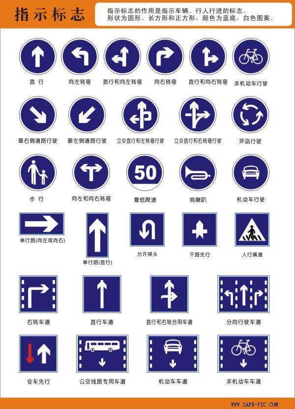 道路交通安全标志挂图