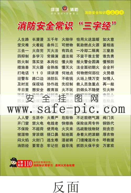 743-02:消防安全常识宣传单宣传单-全国消防日消防常识宣传单图片