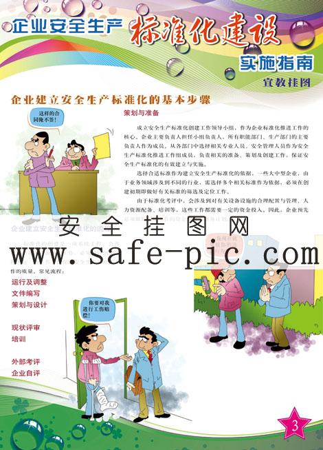 企业建立安全生产标准化的基本步骤