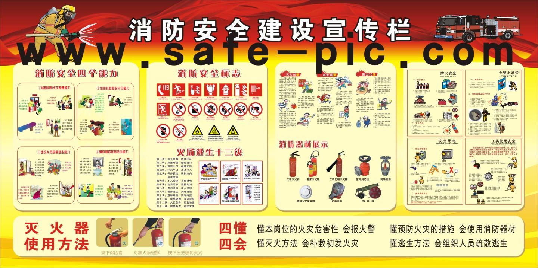安全宣传栏|安全生产月宣传栏|安全生产展板|消防